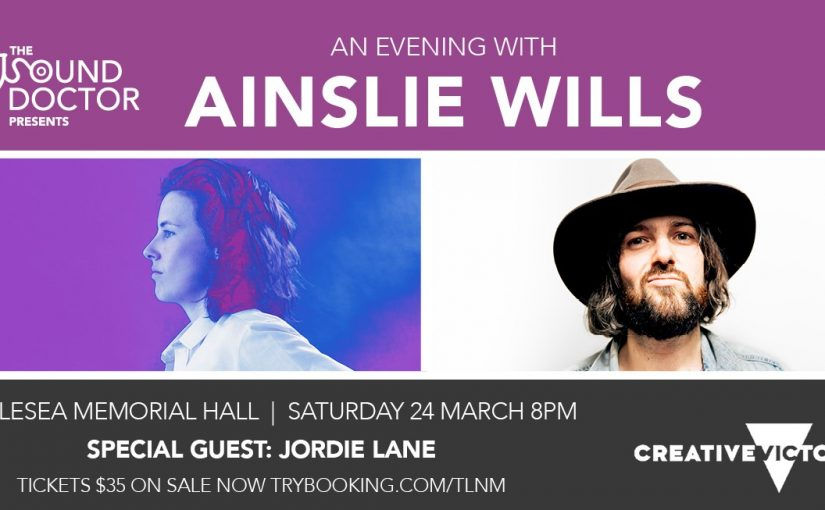 Ainslie Wills and Jordie Lane